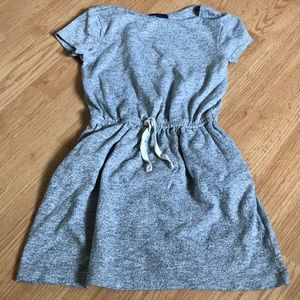 Gap girls dress size small (6-7) gray